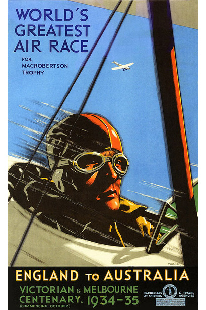 1934 Air Race Poster